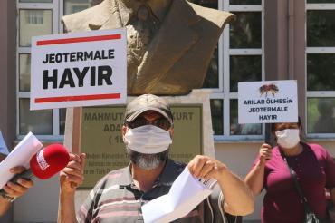 JES'e direnen köylülere kesilen 3150'şer lira cezaya itiraz reddedildi