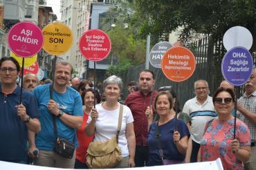 Demokratik Katılımcı Hekimler: Meslektaşlarımızı örgütlerine sahip çıkmaya çağrıyoruz