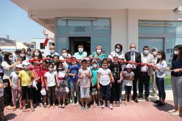 Denizli'de Merkezefendi Belediyesi kadın çocuk yaşam merkezleri açtı