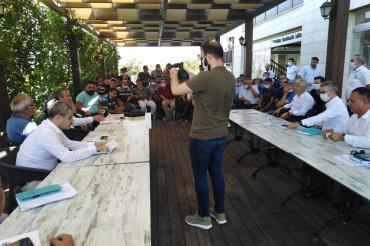 DSİ Denizli'de ürünleri zarar gören çiftçilere ilişkin rapor hazırlayacak