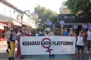 Kuşadası Kadın Platformu: İstanbul Sözleşmesi yaşatır