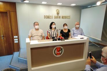 Denizli'de 21 kurumdan ortak açıklama: Maden ihaleleri iptal edilsin