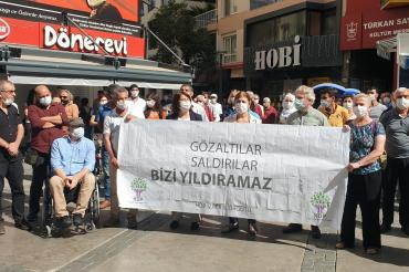 HDP, İzmir'de operasyonlara karşı ortak mücadele çağrısı yaptı