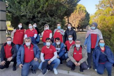 Ücretsiz izne çıkarılan Gofrette işçileri haklarını istiyor