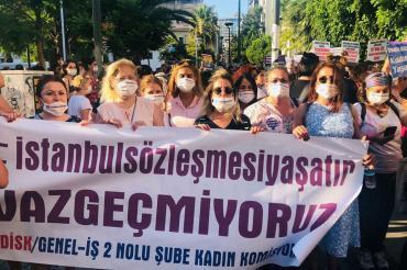 İZENERJİ'de çalışan kadın işçiler: Yan yana durursak sorunların üstesinden geliriz