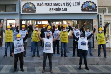 Somalı madencilerden Ermenek'teki gözaltılara tepki: Bu yoldan dönmeyeceğiz