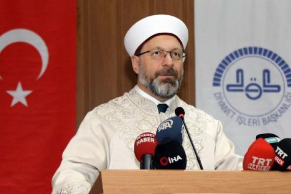 Diyanet Başkanı Ali Erbaş: 29 Mayıs'ta camilerin fethini gerçekleştireceğiz