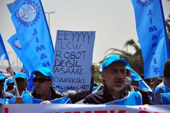 LC Waikiki işçileri: Çalışırken ölmek istemiyoruz!