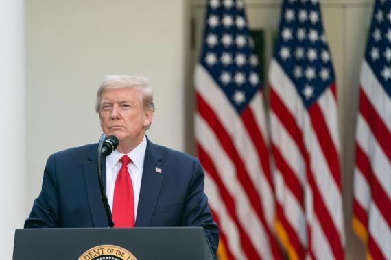 Trump, Kongre'ye DSÖ'den resmi ayrılma bildirimi yolladı