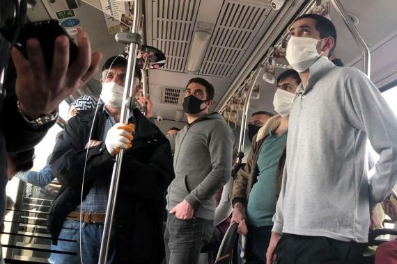 İstanbul'datoplu ulaşım kullananların sayısı artıyor