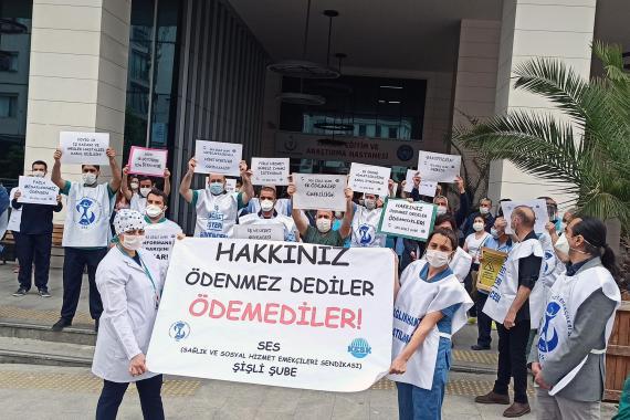 İskender Bayhan: Hükümet, sağlık emekçilerinin haklarını halının altına süpürdü