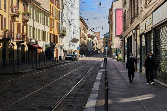 İtalya'da koronavirüs nedeniyle uygulanan seyahat kısıtlaması kalktı