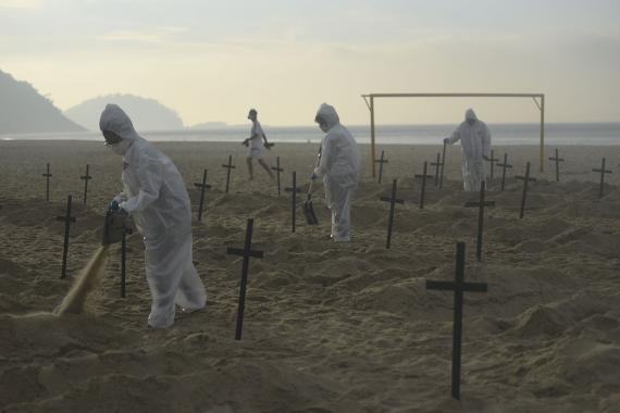 Dünya genelinde koronavirüs bilançosu: Can kaybı 557 bin 510'a yükseldi