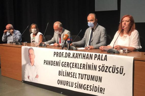 Prof. Dr. Kayıhan Pala hakkında açılan soruşturma protesto edildi