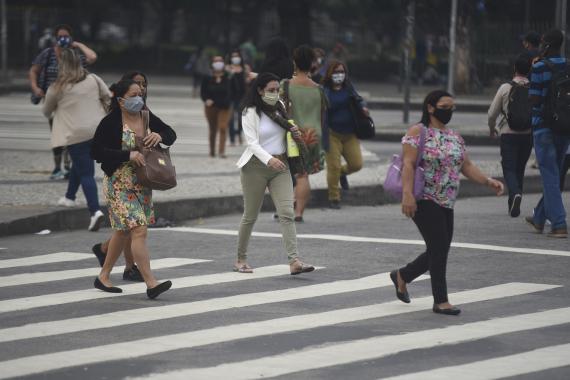 Kovid-19 nedeniyle Brezilya'da1223, Meksika'da782, Hindistan'da487 kişi öldü
