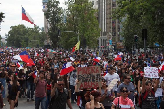 Şili'de sosyoekonomik uçurum ile derinleşen Kovid-19 salgını
