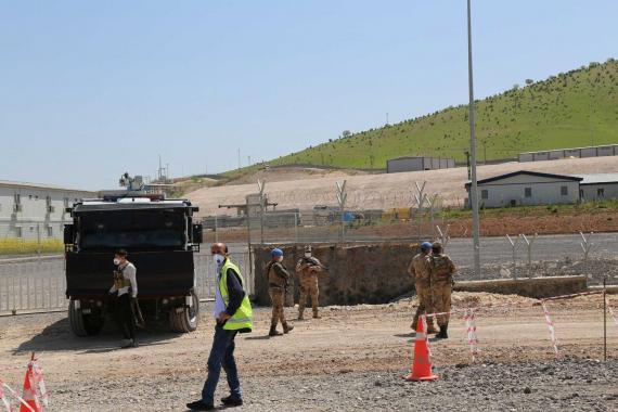 Mardin'deki Cengiz İnşaat'ta koronavirüs vakalarının yayıldığı iddia ediliyor