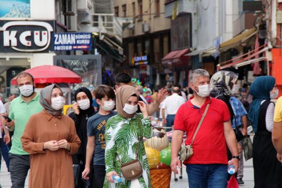 Türkiye'de son 24 saatte 1178 kişiye Kovid-19 tanısı konuldu