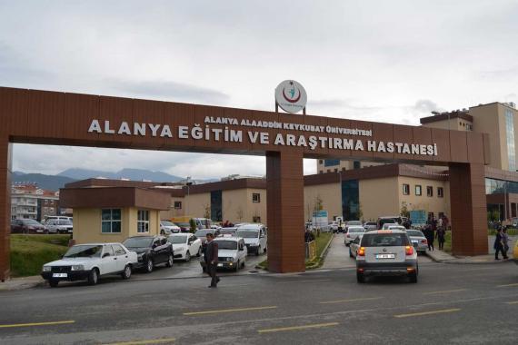 Alanya'da pandemi hastanesinde toplu istifa
