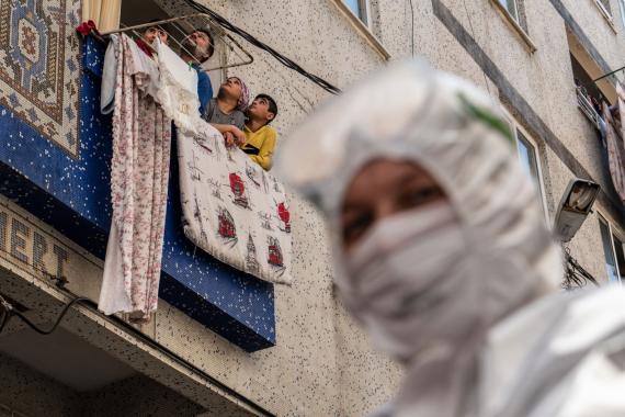 Türkiye'de son 24 saatte 1519 kişiye Kovid-19 tanısı konuldu