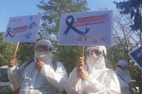 Sağlık emekçisi: Sömürüsüz, pandemisiz, özgür bir dünyada yaşamak istiyoruz