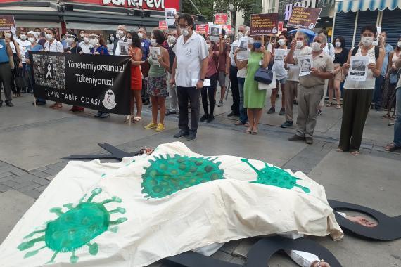 İzmir Tabip Odası koronavirüs salgınına karşı acil önlem alınmasını istedi
