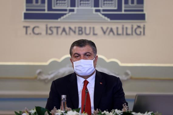 Sağlık Bakan Fahrettin Koca: İstanbul'da 28 ilçede vaka artış oranı yüzde 50