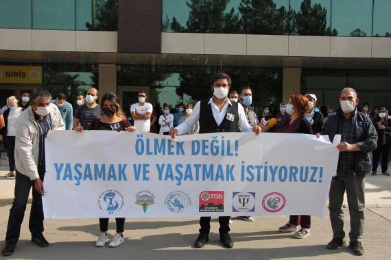 SES Diyarbakır Şube Eş Başkanı: Sağlıkçıların 'ölüm riski' artacak