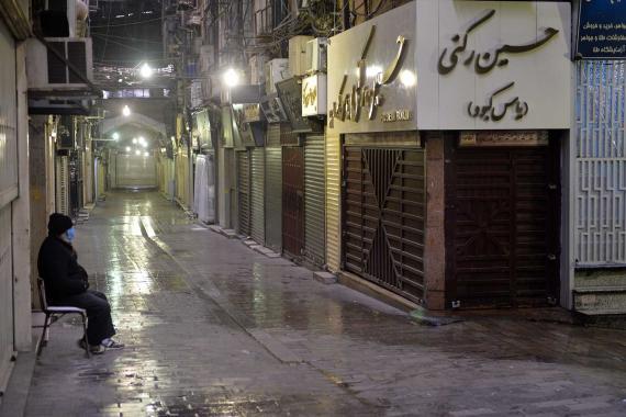 İran'da son 24 saatte Kovid-19 nedeniyle 406 kişi hayatını kaybetti