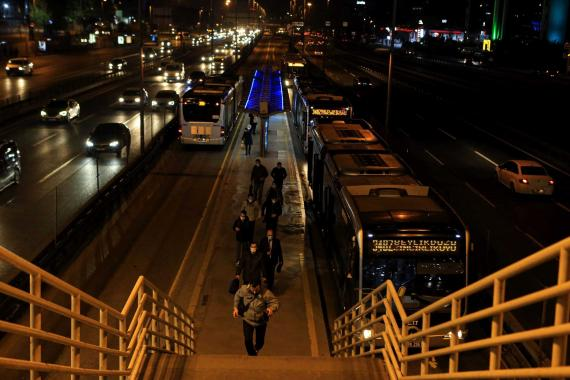 Türkiye genelinde uygulanan sokağa çıkma kısıtlaması 05.0'te sona erdi