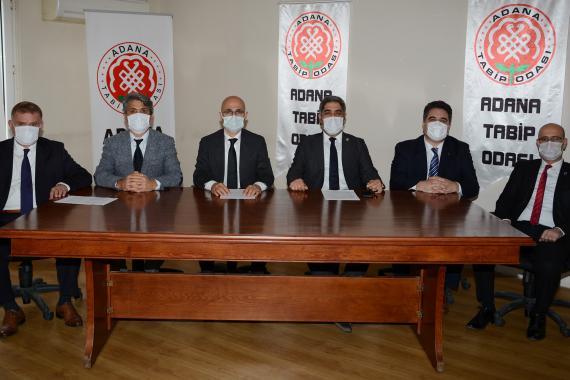 Adana'da meslek odalarından ortak çağrı: Ülke genelinde 14 gün kısıtlamaya gidilmeli