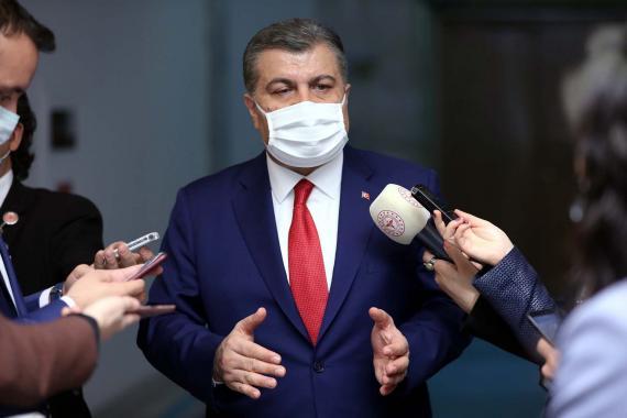 Sağlık Bakanı Koca: Son bir haftadaHatay ve Antalya'da vaka artışı yüzde 100
