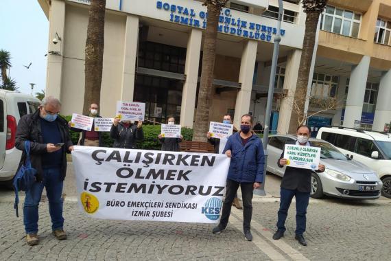 BES İzmir: Zorunlu olmayan mal ve hizmet üretimi durdulmalı