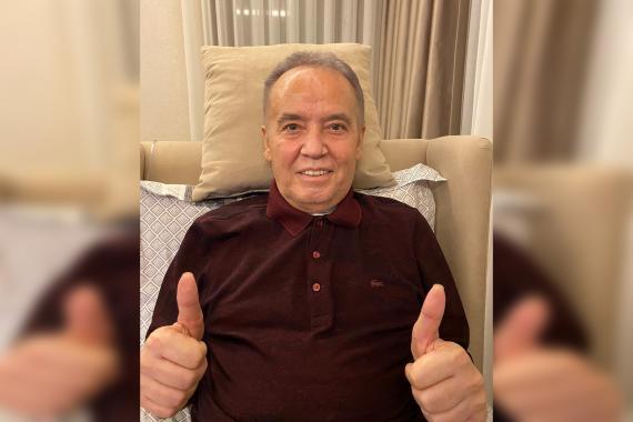 Kovid tedavisi gören Antalya Büyükşehir Belediye Başkanı Muhittin Böcek taburcu oldu