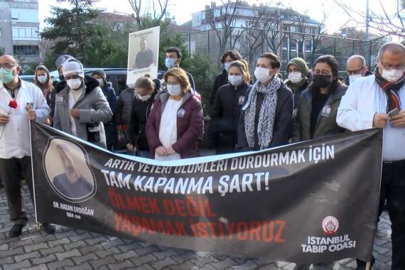 Bahçelievler'de ASM'de çalışan Dr. Hasan Erdoğan Kovid-19 nedeniyle hayatını kaybetti
