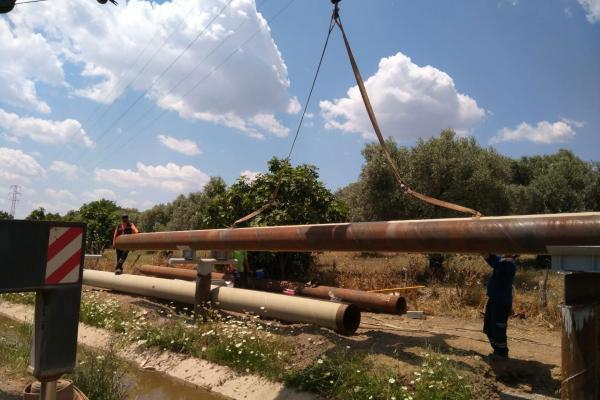 Efeler Belediyesi Yılmazköy Mahallesi'ndeki JES çalışmasını durdurdu