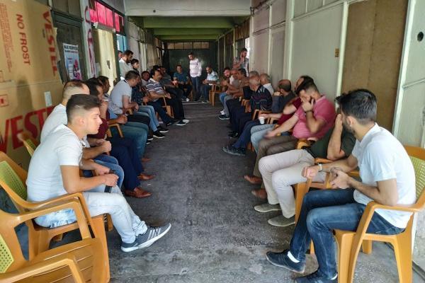 Kayseri'de sayacılar iş bıraktı