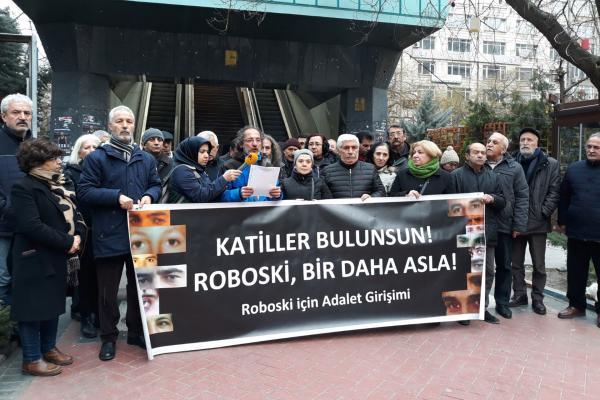 Roboski Katliamı'nda yaşamını yitirenler 8. yılda Ankara'da anıldı.
