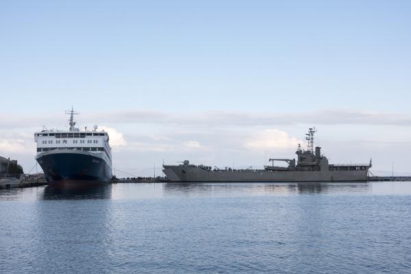 'Rodos'' isimli ulaştırma gemisi