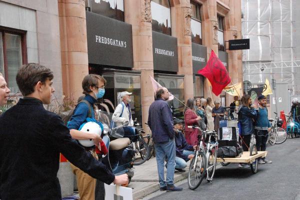 İsveç'te çevre eylemi