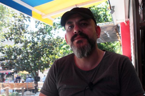 Suriyeli esnaf Şakir.