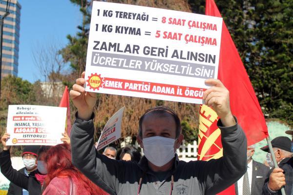 EMEP Adana İl Örgütü basın açıklaması düzenledi