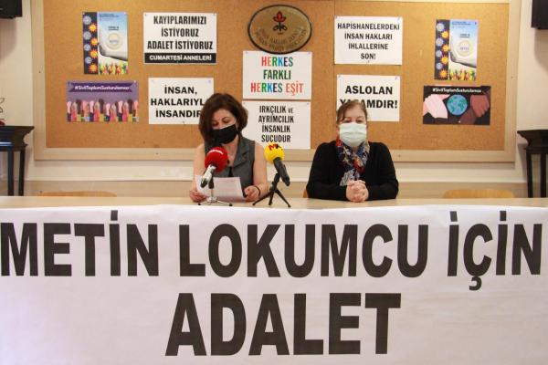 İHD ve TİHV, Metin Lokumcu davasına katılım çağrısında bulundu
