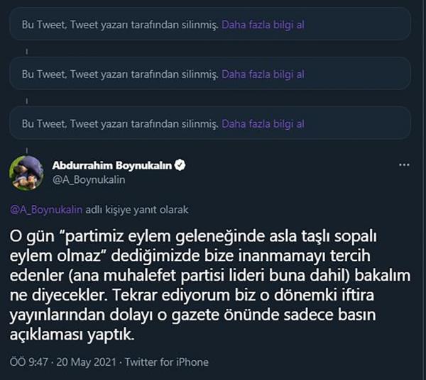 Abdurrahim Boynukalın'ın paylaşımları