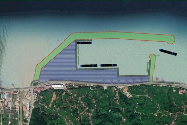 İyidere limanının planı