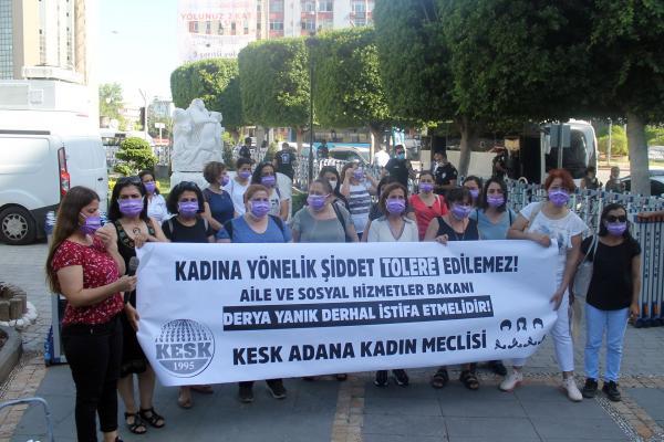 KESK Adana Kadın Meclisi açıklama yaptı