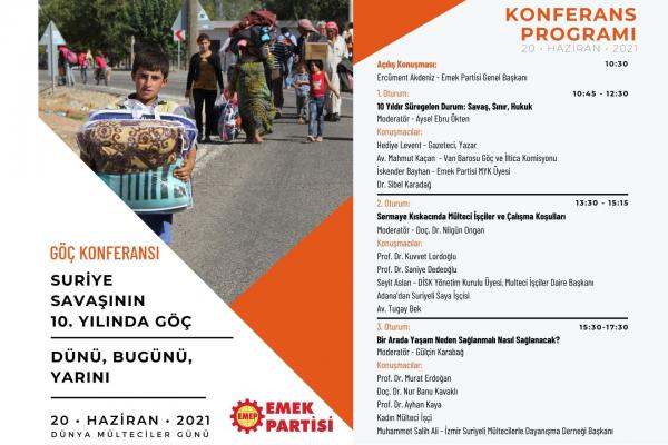 Göç Konferansı programı