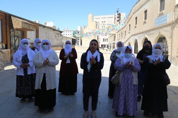 Urfa'da kadınlar açıklama yaptı