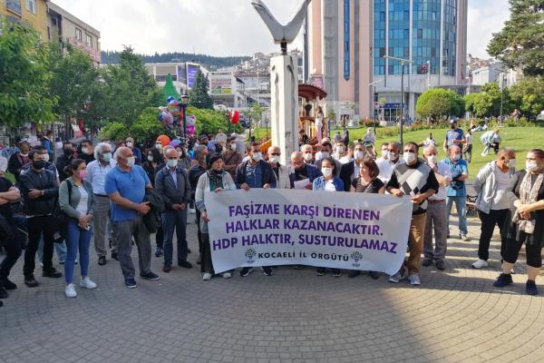 HDP Kocaeli örgütü açıklama yaptı