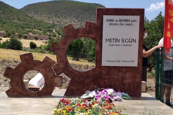 Metin İlgün'ün mezarı